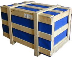 Shippung International LCL. Smaller Crate.